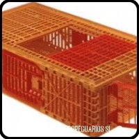 plastic crate for live poultry transportation