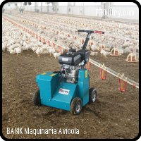 Poultry Remover Bed BASIK - 80