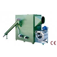 Hot air generators for poultry fueled by biomass