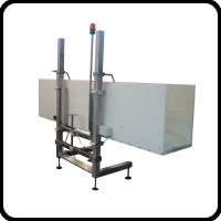 Correct stunning of the birds is essential for humane and efficient killing. Our waterbath stunner is a tried and tested method to tranquillize a bird before the kill cut is made. Model STN1200 with a capacity of up to 2000 birds per hour or model STN4000 with a capacity of up t0 6000 birds per hour Differerent control panel available: only voltage adjustable 50/60Hz, voltage and frequency adjustable 50-400Hz, voltage and frequency adjustable 50-400Hz including bird counter