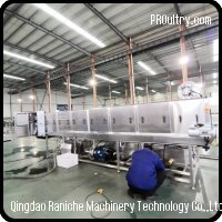 Crate & Baskets Washing Machine for meat and food processing plant